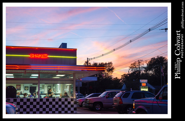 """Lee's Diner,"" 2-21-2016, Hammond, LA. Image © Phillip Colwart Photography. 985.542.8216"